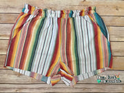 Tucson Sun Serape Pull On Shorts