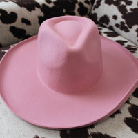 The Pink Lady Pink Colored Felt Hat