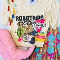The Afton Roadtrip Vintage Graphic Tee