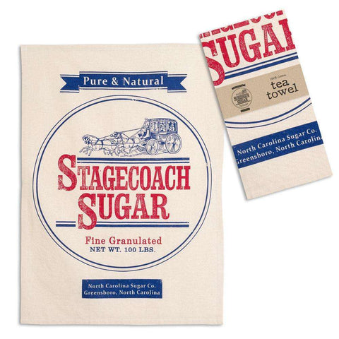 Stagecoach Sugar Tea Towel - Kitchen Dish Towel