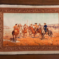 The Chuck Wagon Western Cowboy Placemat (Style #2)