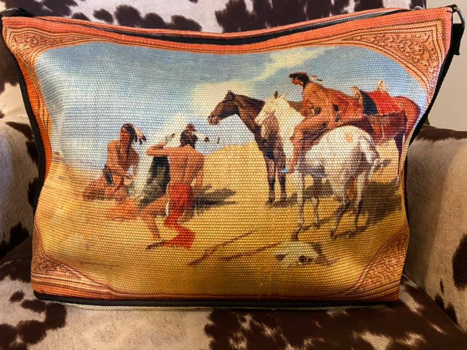 The Stagecoach Western Cowboy Purse (Style 4)