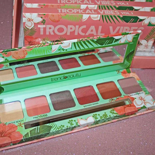 TRENDBEAUTY TROPICAL VIBES EYESHADOW PALETTE