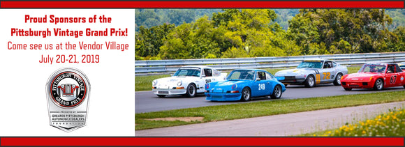 Sponsors of the Pittsburgh Vintage Grand Prix