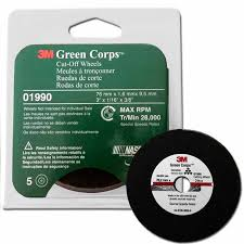 3M Green Corps cut-off wheels 1990