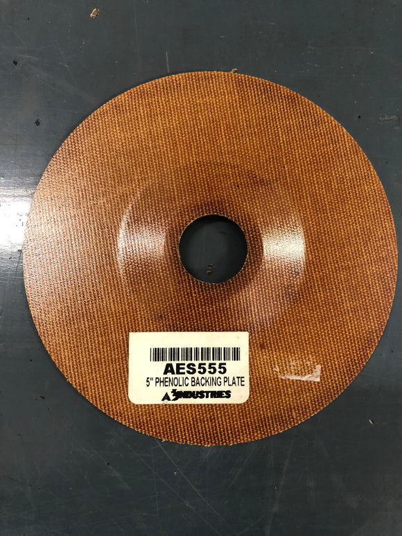 "Aes 555 5"" X 7/8"" Phenolic Backing Plate"