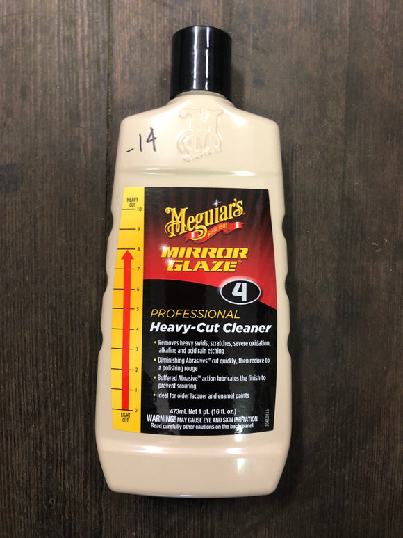 Meguiars No. 4 Heavy Cut Cleaner