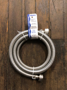 Aquaflo stainless steel washing machine connector 72""