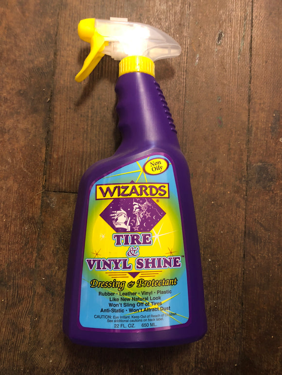 Wizards Tire & Vinyl Shine 22Oz