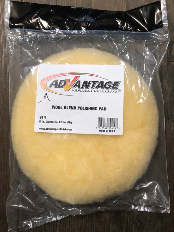 Advantage 914 Wool Polishing Pad