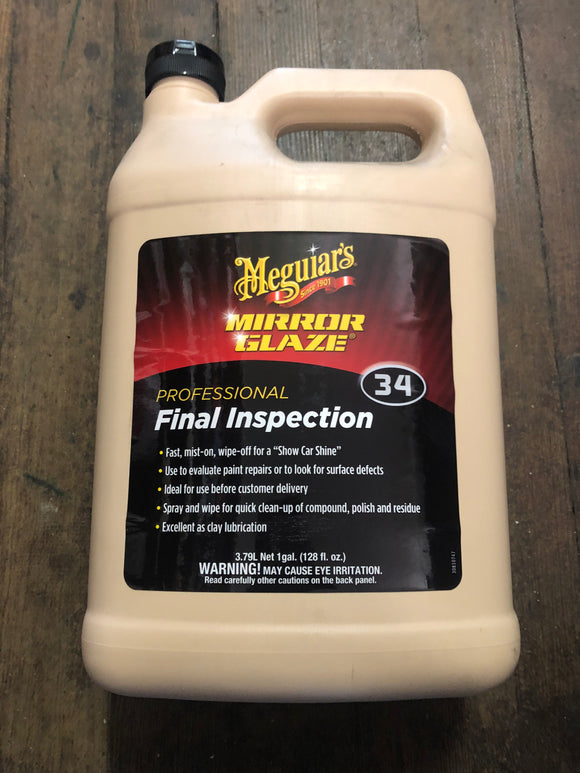 Meguiars 34 Final Inspection Cleaner