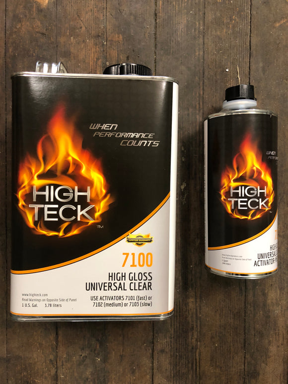 High Teck High Gloss Clear Kit