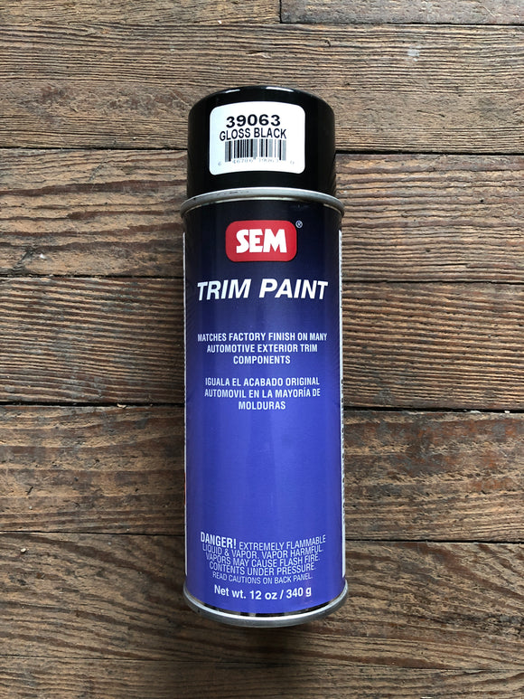 Sem Trim Paint Gloss Black