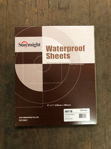 Sunmight Waterproof Sheets 600G Box50