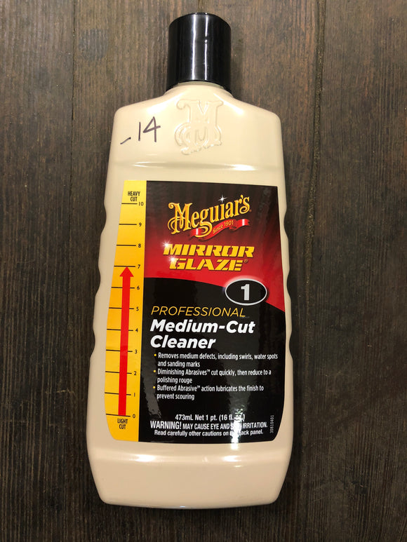 Meguiars No. 1 Medium Cut Cleaner