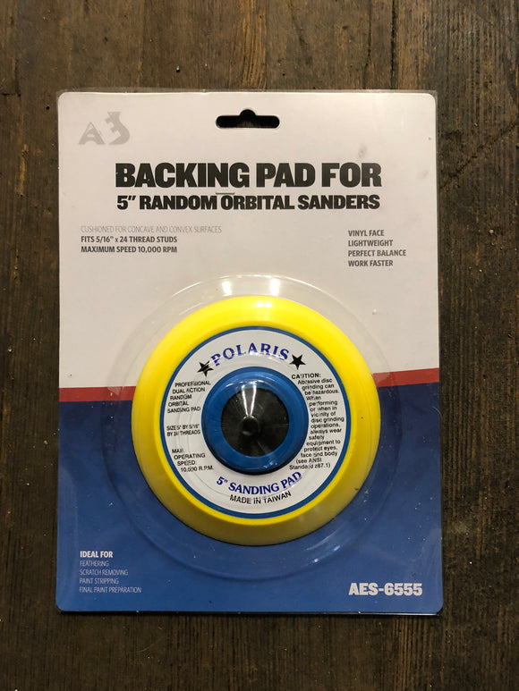 "Aes 5"" Psa Backing Pad"