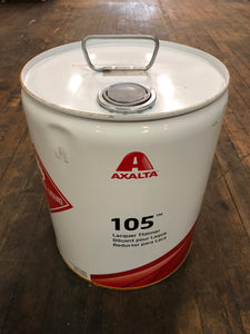 Axalta lacquer thinner 105 5 gallon