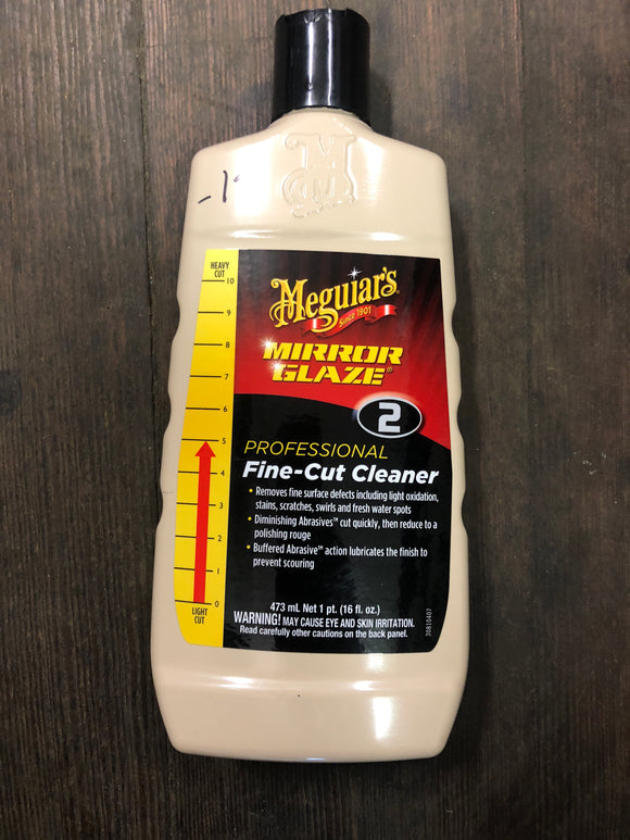 Meguiars No. 2 Pint Fine-Cut Cleaner
