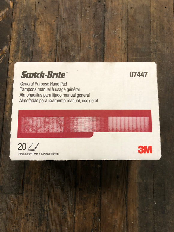 3M Scotch-Brite Pads Box 20