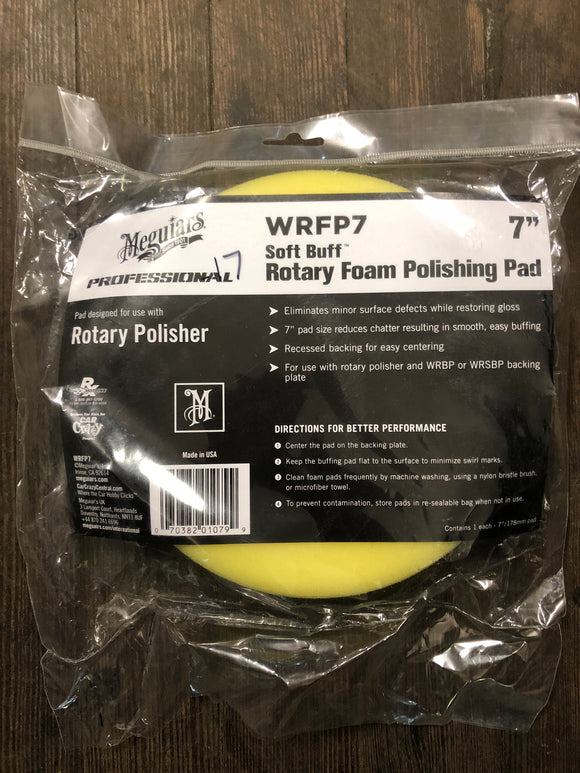 "Meguiars Wrfp7 7"" Polishing Pad"