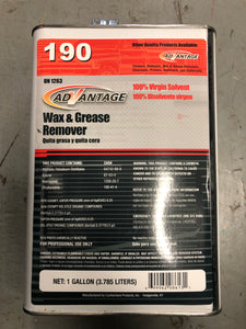 Advantage 190 Gal. Wax and Grease Remover