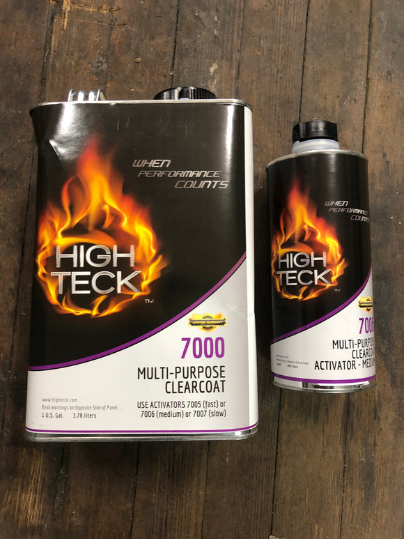 High Teck Clear Coat 7000 Kit