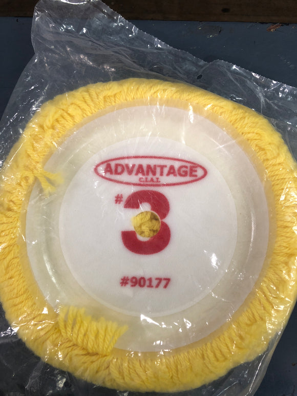 Advantage #3 Wool Buffing Pad