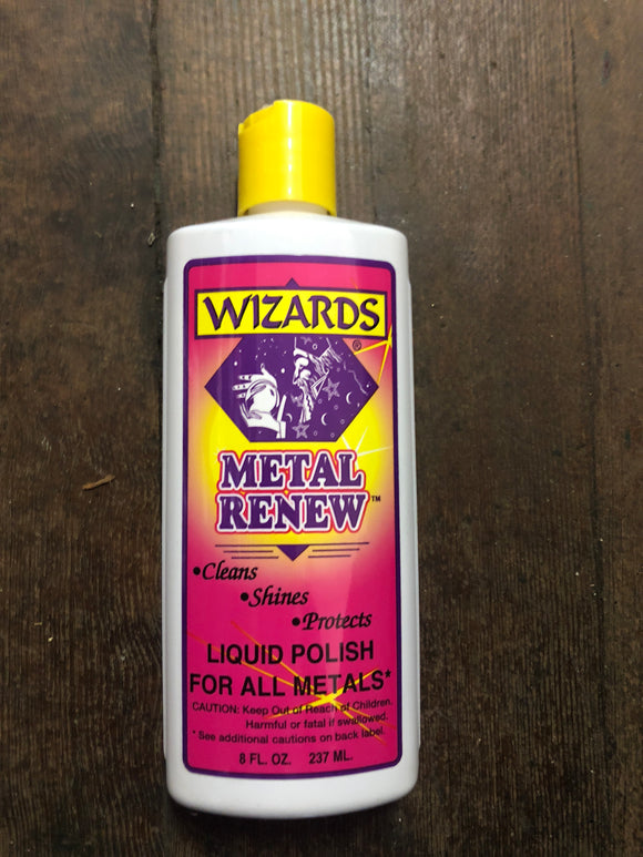 Wizards Metal Renew Polish 8Oz