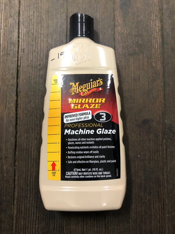 Meguiars No. 3 Pint Machine Glaze