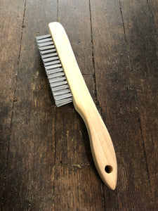 Premier Zpro Shoe Handle Wire Brush