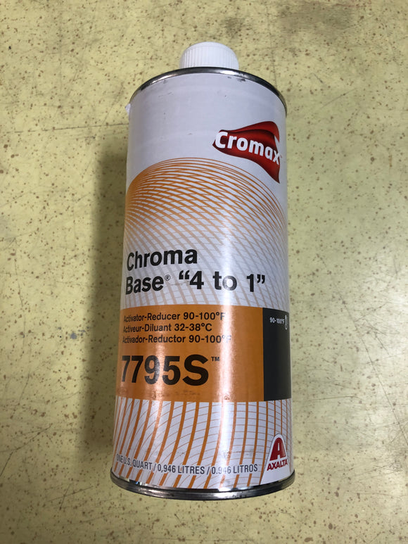 Cromax 7795S High Temp Activator Qt