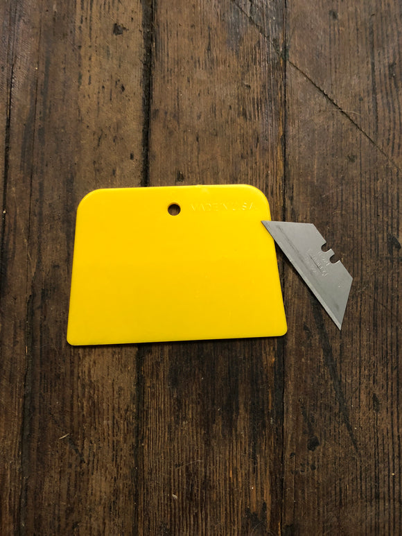 "Spreader 4"" Yellow"