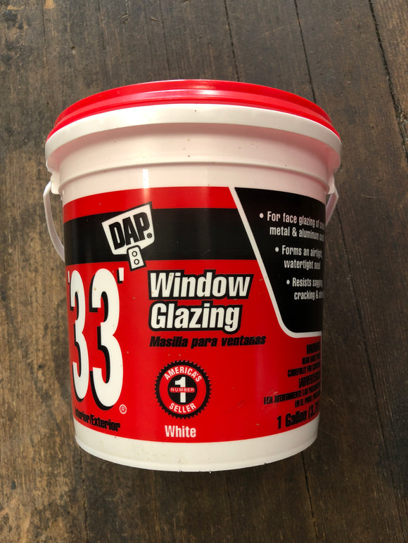 Dap 33 Window Glazing