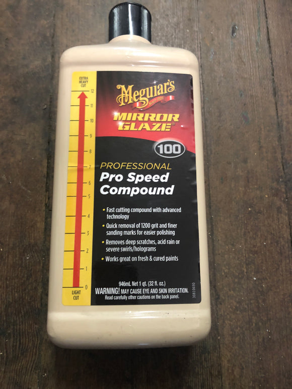 Meguiars 100 Pro Speed Compound