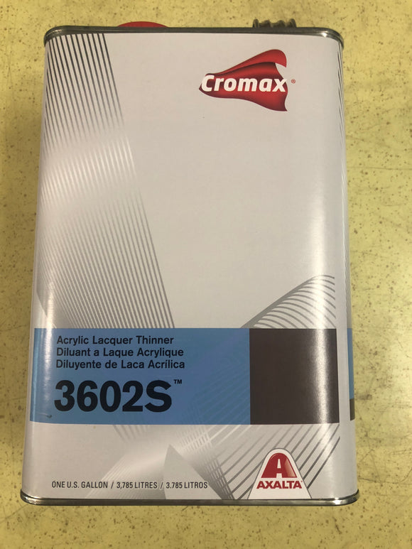 Cromax 3602s Slow Lacquer Thinner Gal