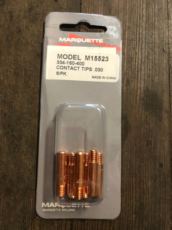Marquette M15523 .030 Contact Tips