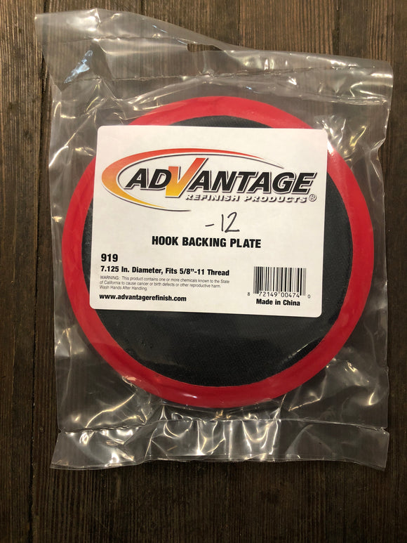 "Advantage 919 7"" Hook & Loop Pad"