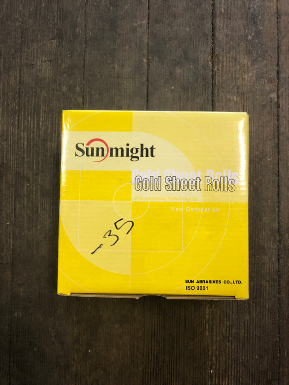 "Sunmight 2 3/4"" 220G Gold Psa Roll"