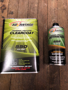 Advantage Clearcoat/Activator Kit