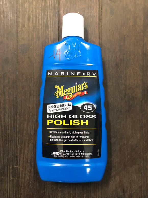 Meguiars No. 45 High Gloss Polish