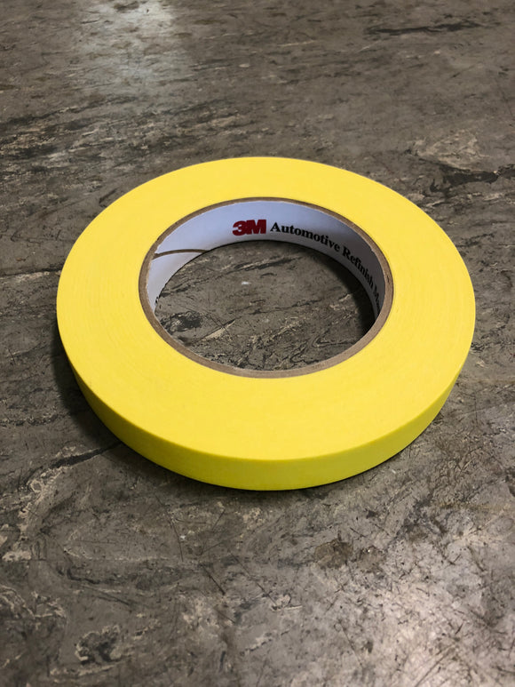 "3M 3/4"" yellow tape 6652"