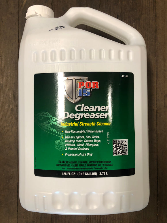 Por15 40101 Cleaner Degreaser Gallon