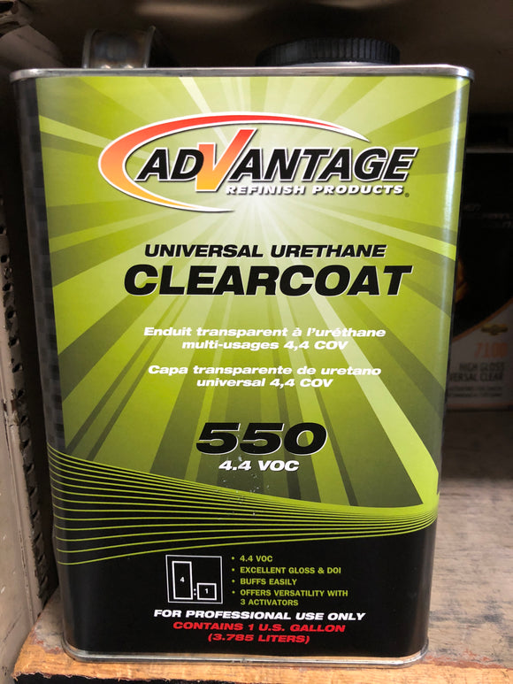 Advantage Clearcoat 550