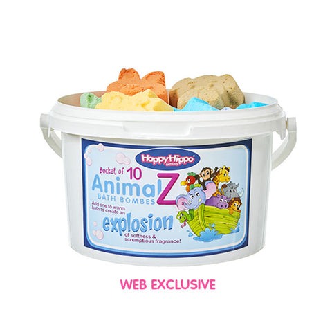 ANIMALZ BATH BOMBS BUCKET