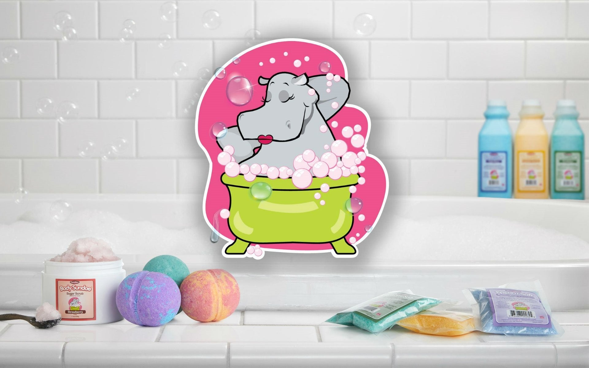 Happy Hippo Bath Bombs
