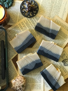 sirius black handmade cold process soap bookish gift