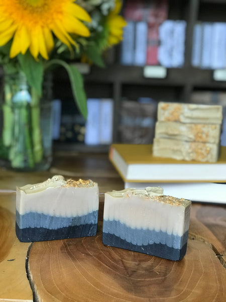 harry potter inspired handmade soap cold process