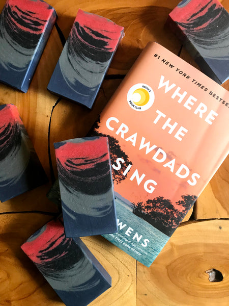 AUGUST BOOK OF THE MONTH:  WHERE THE CRAWDADS SING