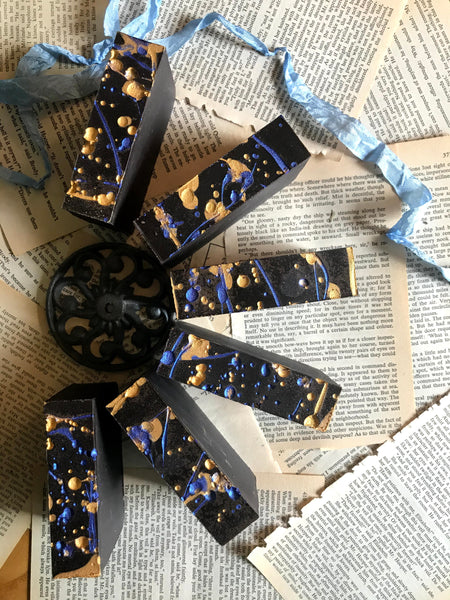 dark chocolate soap inspired by harry potter bookish gift bookish things