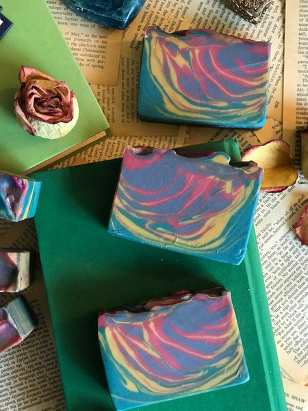 book inspired gifts bookish apothecary handmade soap